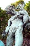 庞贝城古老罗马市雕塑意大利 免版税库存图片