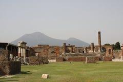 庞贝城意大利 免版税图库摄影