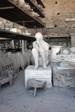 从庞贝城的古老人工制品 库存照片