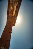 庞贝城著名古色古香的站点,在那不勒斯附近 免版税图库摄影