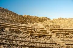 庞贝城著名古色古香的站点,在那不勒斯附近 免版税库存图片