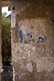 庞贝城,意大利的考古学挖掘 免版税库存图片