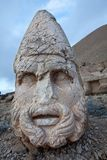 废墟内姆鲁特火山 库存图片
