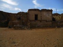 废墟和分数维 免版税库存照片