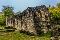废墟和庭院 库存照片
