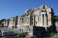 废墟在土耳其 库存图片