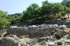 废墟在意大利 免版税库存图片