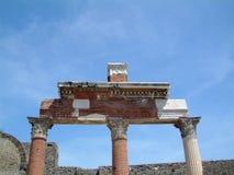 废墟在罗马 免版税库存照片