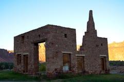 废墟在翼膜老镇  免版税库存照片