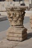 废墟在阿曼约旦圆形露天剧场 免版税库存照片