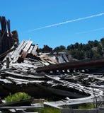 废墟在贝尔蒙特, NV 免版税库存照片