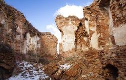 废墟堡垒 免版税库存图片