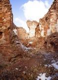 废墟堡垒 图库摄影