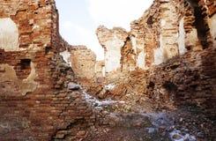 废墟堡垒 免版税库存照片