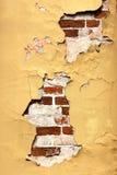 废墟墙壁 免版税库存照片
