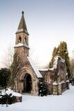 废墟教会教堂 免版税库存照片