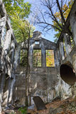 废墟的内部 免版税图库摄影