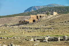 废墟的土耳其 免版税库存图片