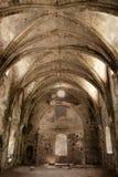 废墟的教会 免版税图库摄影