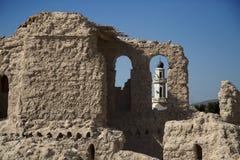 废墟的清真寺 库存图片