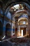 废墟的第17个教会 免版税图库摄影