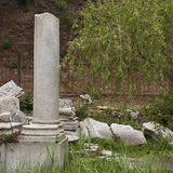 废墟 免版税库存照片