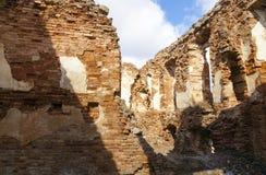 废墟Golshany,白俄罗斯 图库摄影