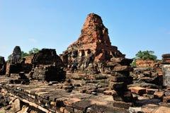 废墟sukhothai寺庙 免版税库存照片