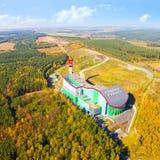 废弃物焚化工厂ZEVO 免版税库存图片