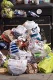 废弃物街道 免版税库存图片