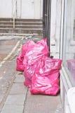 废弃物袋子 库存图片