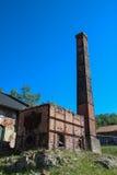 废弃的火葬场和熔炉 免版税图库摄影