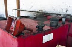废旧石油废物 免版税库存照片