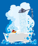 废水 免版税库存图片