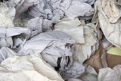 废纸为回收 免版税库存照片