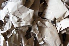 废纸为回收 库存照片