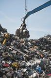 废金属、铁和计算机转储 库存图片
