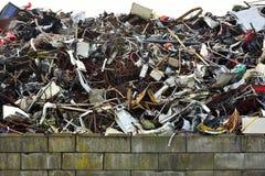 废金属堆  图库摄影