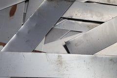 废金属板料 免版税库存图片