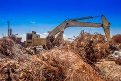 废金属起重机3033 库存照片