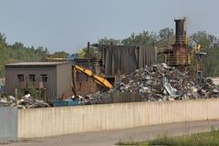 废金属围场 库存照片
