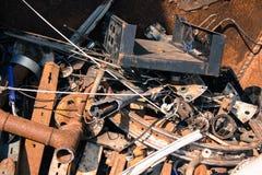 废金属 免版税库存图片
