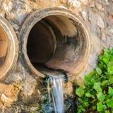 废水管污水 免版税库存图片
