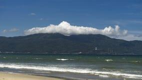 度假区在岘港在一个热的夏日 库存照片