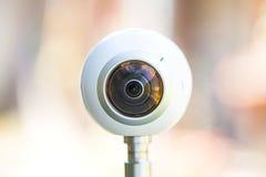 360度全景虚拟实境之旅照相机 库存图片