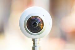 360度全景虚拟实境之旅照相机 图库摄影