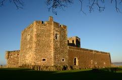黑度城堡看法  图库摄影