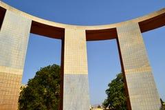 刻度尺(上部圆环)在公羊仪器,斋浦尔观测所拉贾斯坦印度里面 库存照片