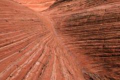 度量红色岩石 免版税图库摄影