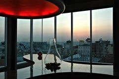 360度餐馆,伊斯坦布尔 免版税库存图片